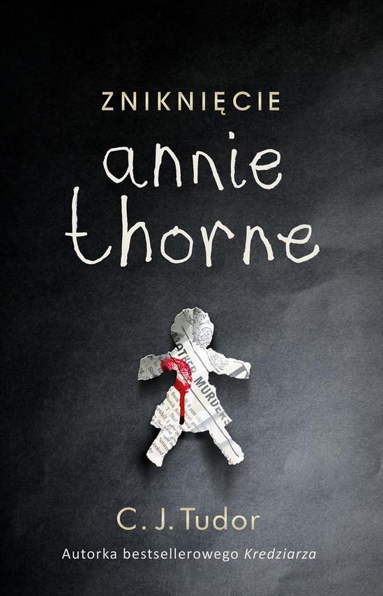 okładka Zniknięcie Annie Thorne, Ebook | C.J.  Tudor