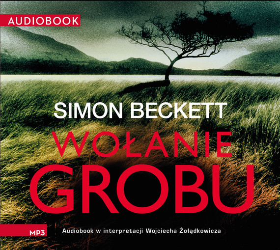 okładka Wołanie grobu, Audiobook | Simon Beckett