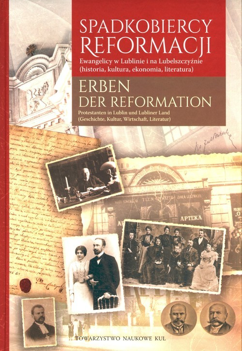 okładka Spadkobiercy Reformacji. Erben der Reformation, Książka |