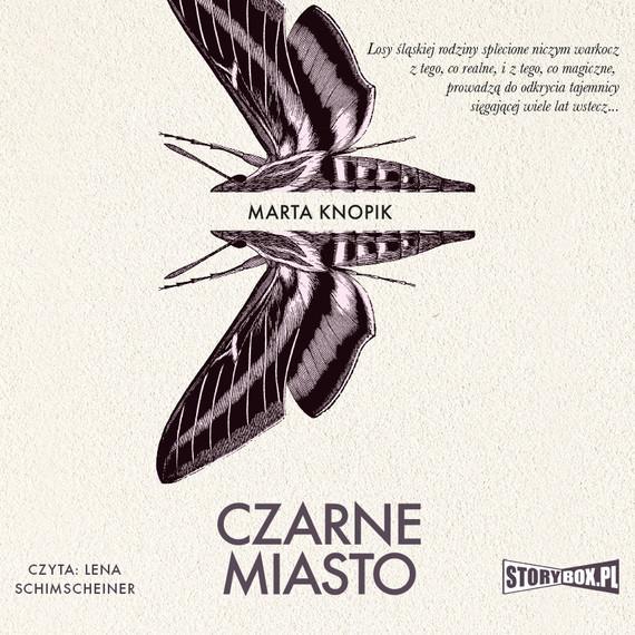 okładka Czarne Miastoaudiobook   MP3   Marta Knopik