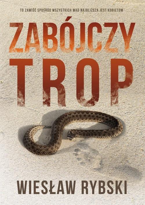 okładka Zabójczy trop, Książka | Rybski Wiesław