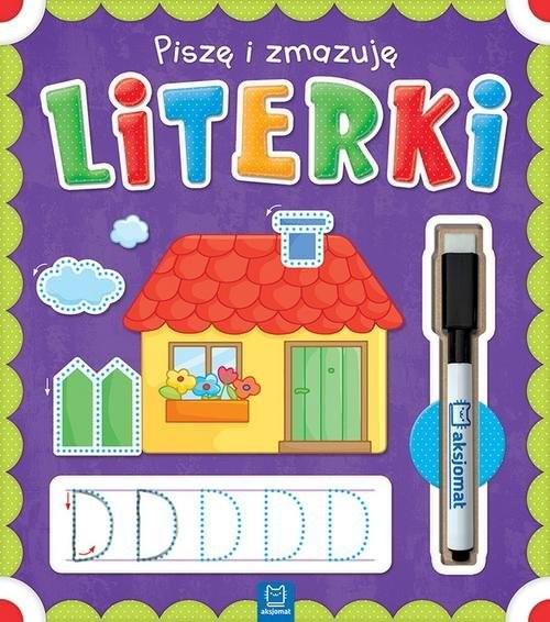 okładka Piszę i zmazuję Literki, Książka   Opracowanie zbiorowe