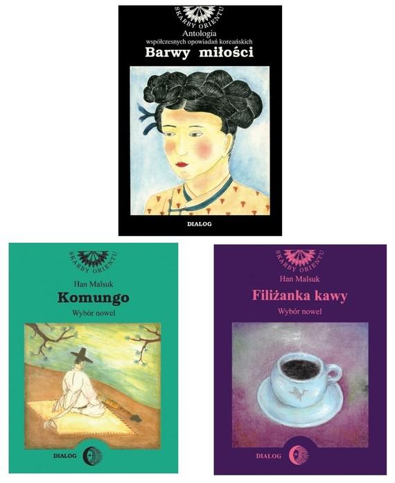 okładka Literatura koreańska - Pakiet promocyjny 3 książekebook | epub, mobi | Han Malsuk, praca zbiorowa