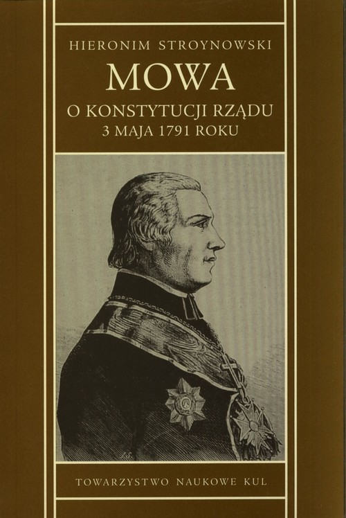 okładka Mowa o konstytucji rządu 3 maja 1791 r., Książka | Stroynowski Hieronim