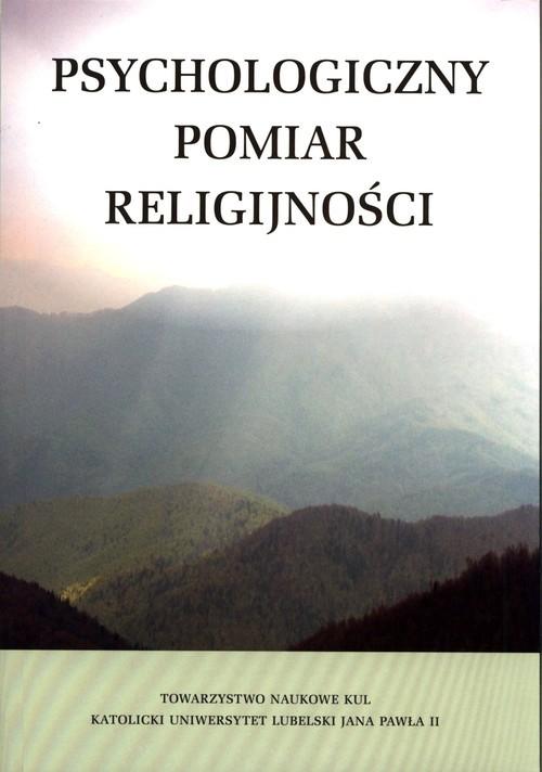 okładka Psychologiczny pomiar religijnościksiążka     