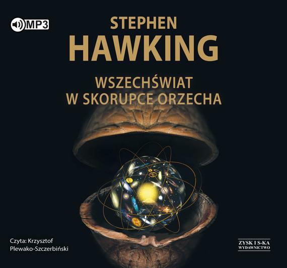okładka Wszechświat w skorupce orzecha, Audiobook   Stephen Hawking