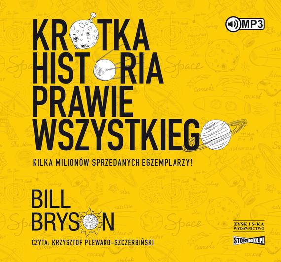 okładka Krótka historia prawie wszystkiegoaudiobook | MP3 | Bill Bryson