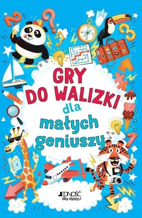 okładka Gry do walizki dla małych geniuszy, Książka |