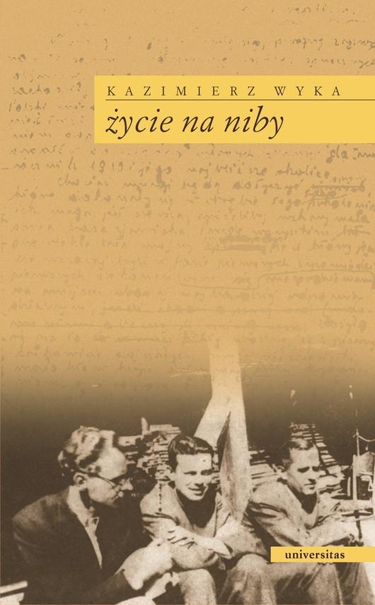 okładka Życie na nibyebook | epub, mobi | Kazimierz Wyka