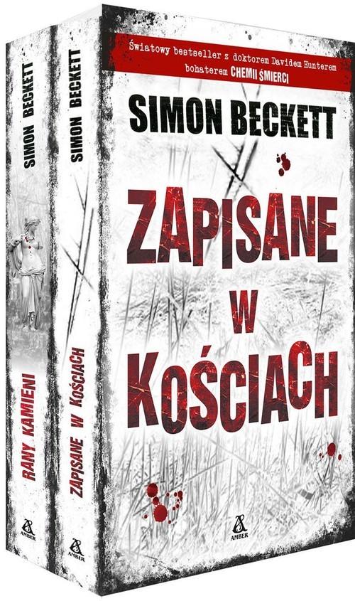 okładka Zapisane w kościach / Rany kamieni Pakietksiążka      Simon Beckett