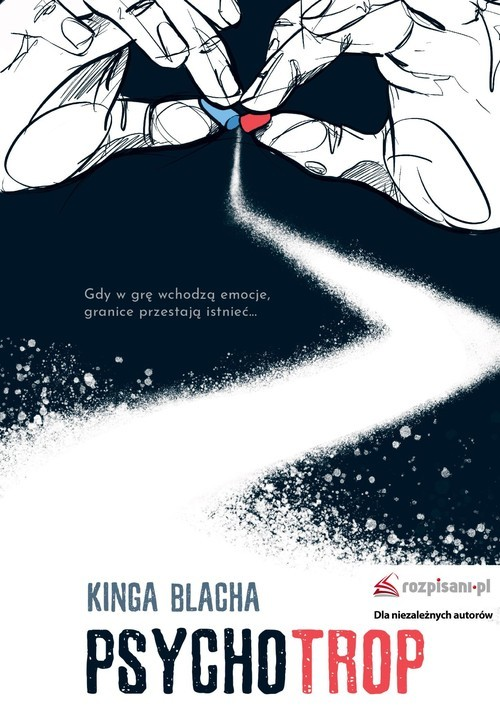 okładka Psychotrop, Książka | Blacha Kinga