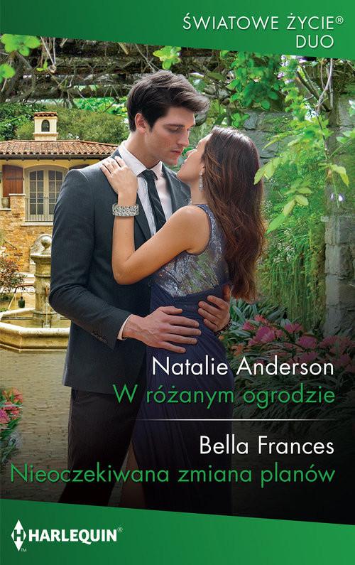okładka W różanym ogrodzie, Książka | Natalie Anderson