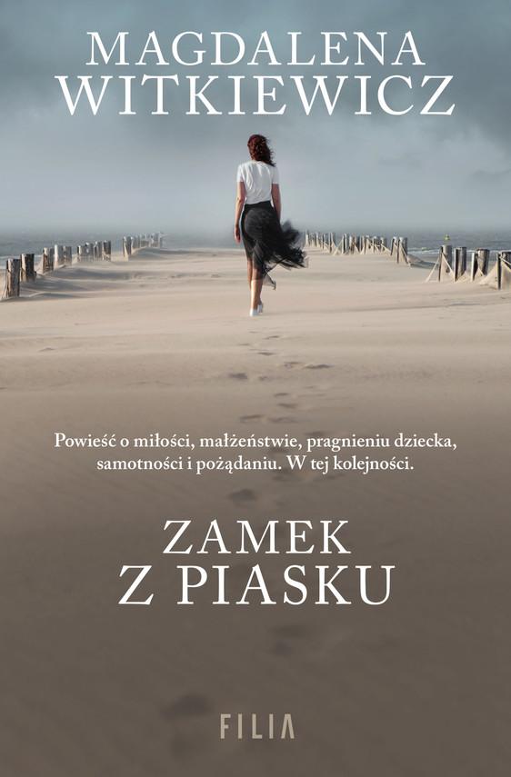 okładka Zamek z piasku, Ebook | Magdalena Witkiewicz