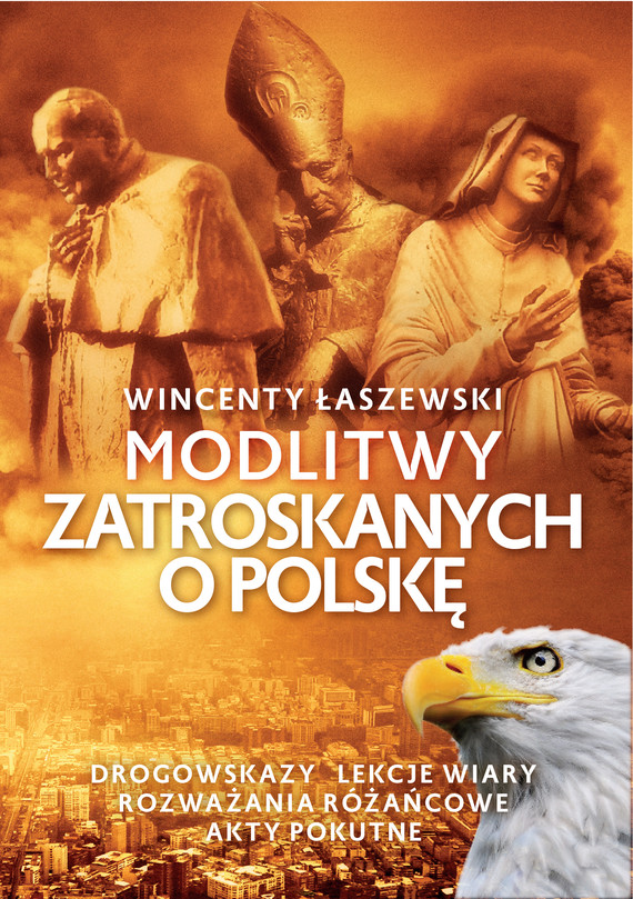 okładka Modlitwy zatroskanych o Polskęebook   epub, mobi   Wincenty Łaszewski