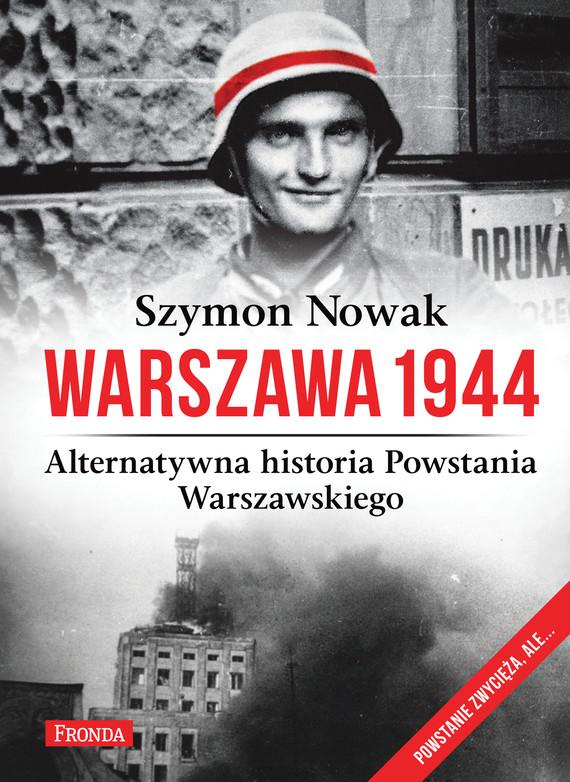 okładka Warszawa 1944ebook | epub, mobi, pdf | Szymon Nowak