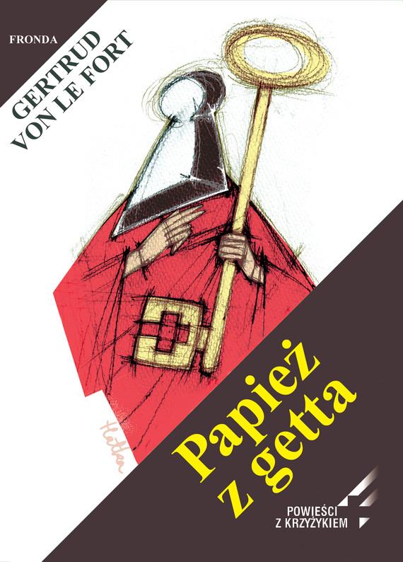 okładka Papież z getta, Ebook   Gertrud Von Le Fort