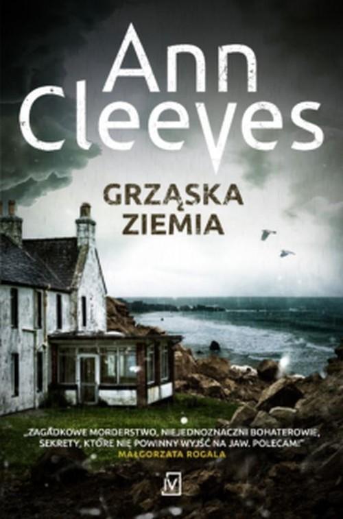okładka Grząska ziemia, Książka | Ann Cleeves