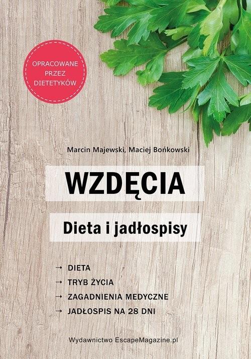 okładka Wzdęcia Dieta i jadłospisy/EscapeMagazine, Książka | Marcin Majewski, Maciej Bońkowski
