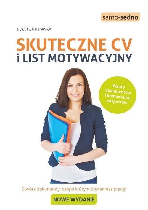 okładka Skuteczne CV i list motywacyjny Samo Sedno, Książka | Ewa  Godlewska