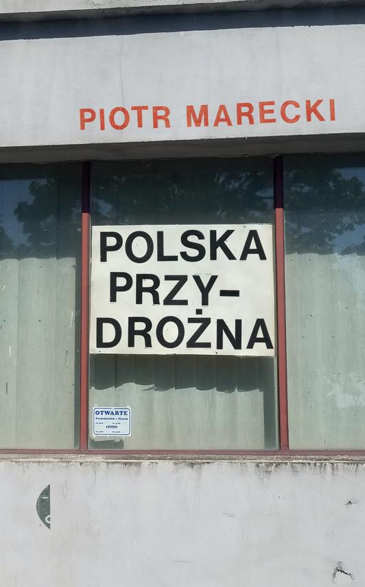 okładka Polska przydrożnaebook | epub, mobi | Piotr  Marecki