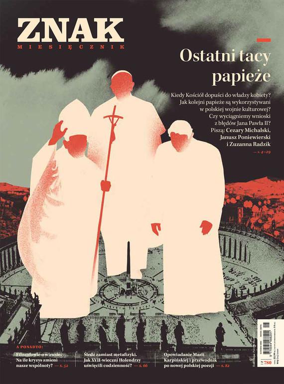 okładka Miesięcznik ZNAK nr 780ebook | epub, mobi | autor zbiorowy