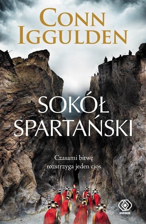 okładka Sokół spartański, Książka | Conn Iggulden