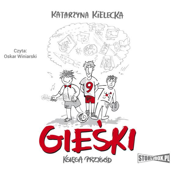 okładka Gieśki. Księga przygód, Audiobook | Katarzyna Kielecka