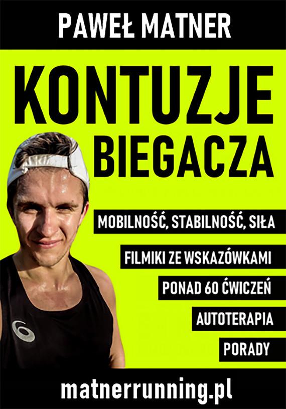 okładka Kontuzje Biegaczaebook | pdf | Paweł Matner