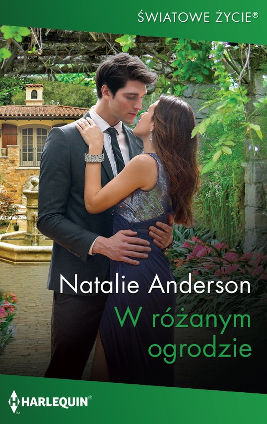 okładka W różanym ogrodzie, Ebook | Natalie Anderson
