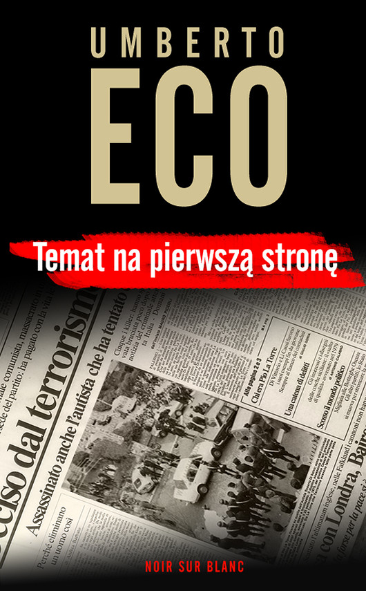 okładka Temat na pierwszą stronęebook   epub, mobi   Umberto Eco