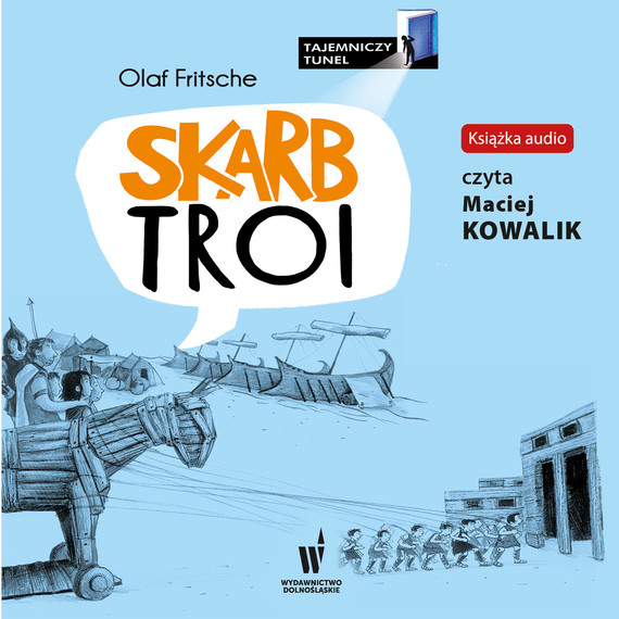 okładka Skarb Troi, Audiobook | Olaf Fritche