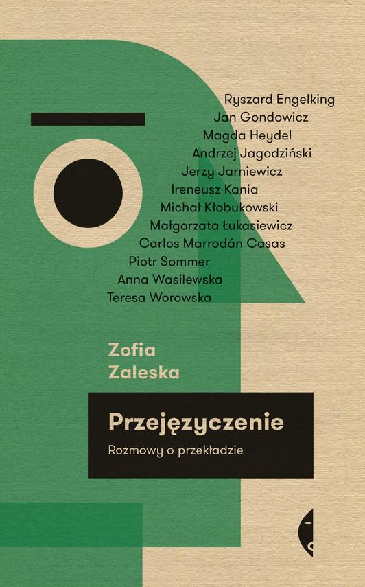 okładka Przejęzyczenie, Ebook | Zofia Zaleska