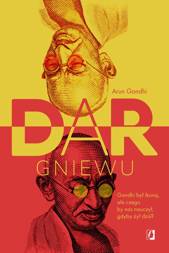 okładka Dar gniewuebook | epub, mobi | Arun Gandhi