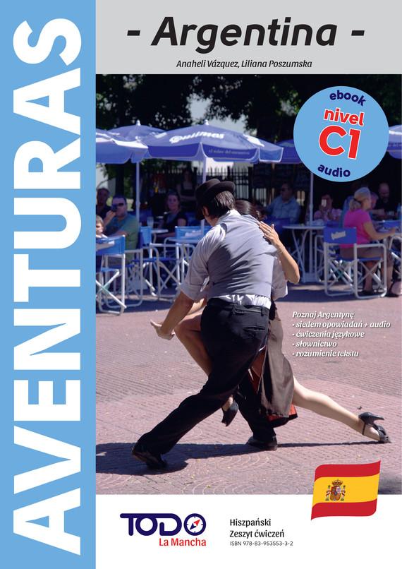 okładka AVENTURASebook | pdf | Anaheli Vázquez, Liliana Poszumska