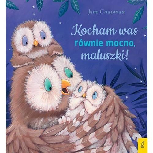okładka Kocham was równie mocno maluszki!książka |  | Chapman Jane