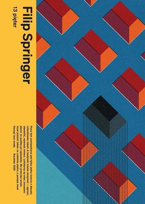 okładka 13 pięter, Książka | Filip Springer