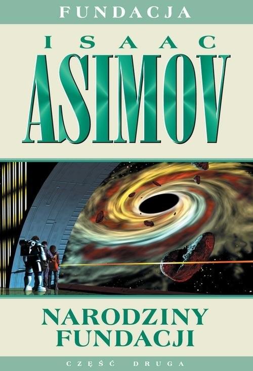 okładka Narodziny Fundacji, Książka | Isaac Asimov