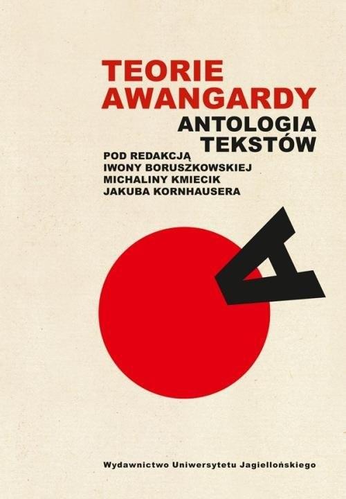 okładka Teorie awangardy Antologia tekstówksiążka     