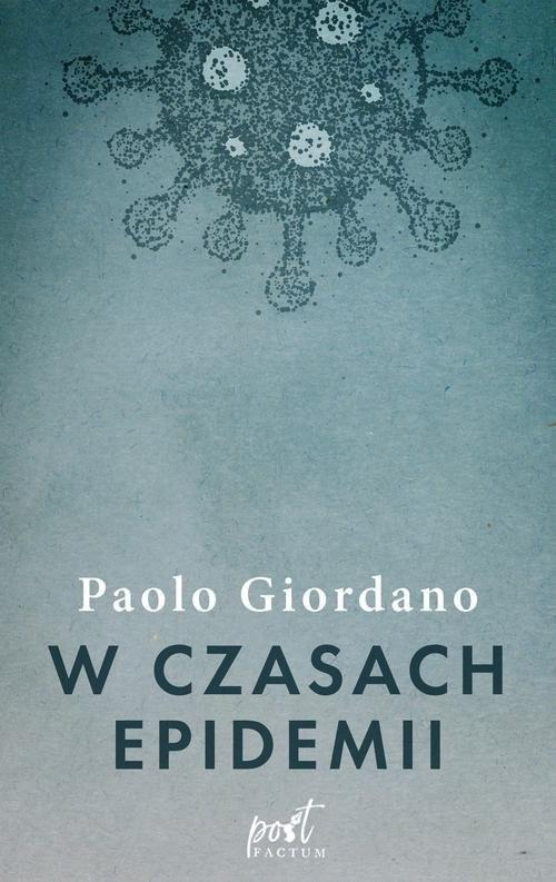 okładka W czasach epidemii, Książka   Giordano Paolo