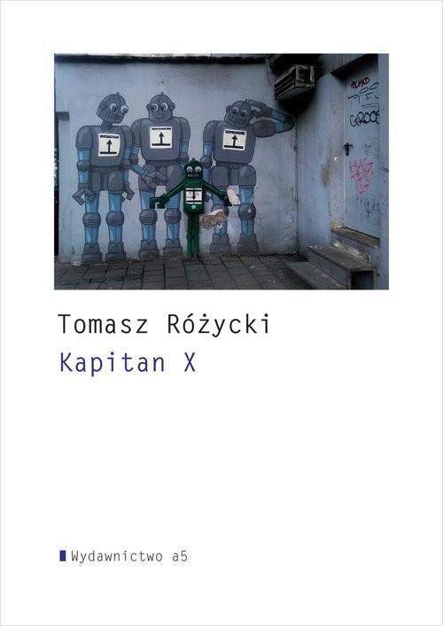 okładka Kapitan X, Książka | Rzcki Tomasy
