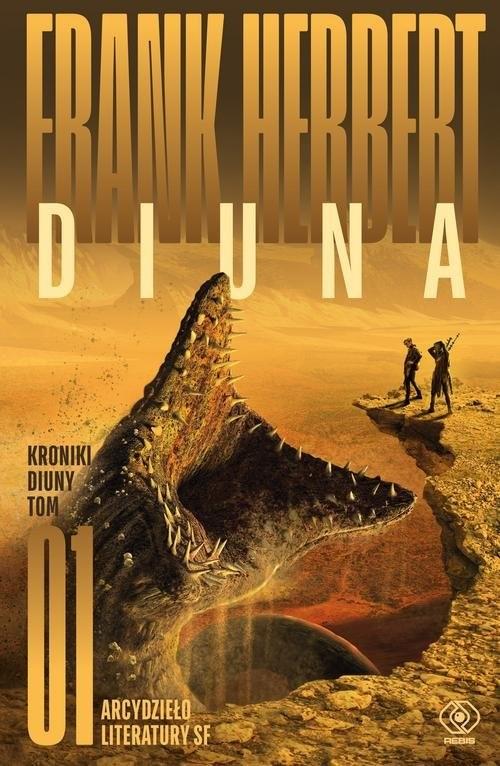 okładka Diuna, Książka | Frank Herbert