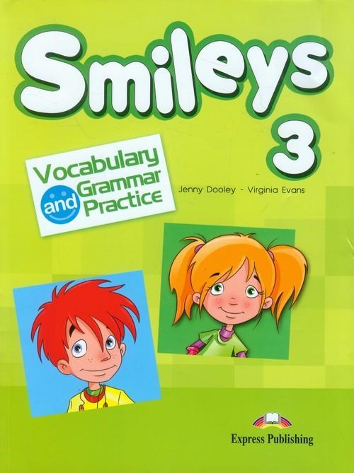okładka Smileys 3 Vocabulary and Grammar Practice, Książka   Jenny Dooley, Virginia Evans