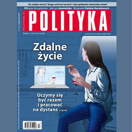 okładka AudioPolityka Nr 13 z 25 marca 2020 roku, Audiobook | Polityka