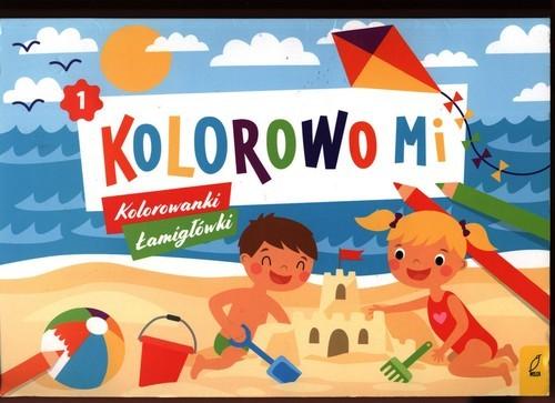 okładka Kolorowo mi Kolorowanki i łamigłówki 1, Książka  