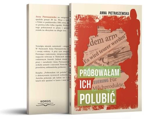 okładka Próbowałam ich polubić, Książka | Pietraszewska Anna