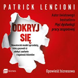okładka Odkryj sięaudiobook | MP3 | Patrick Lencioni