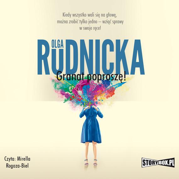 okładka Emilia Przecinek. Tom 1. Granat poproszę!audiobook | MP3 | Olga Rudnicka