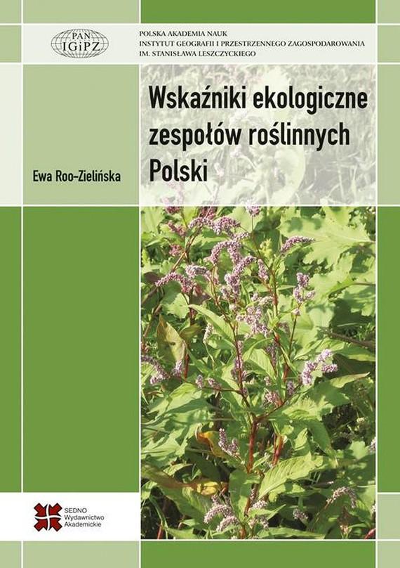 okładka Wskaźniki ekologiczne zespołów roślinnych Polski, Ebook | Ewa  Roo-Zielińska