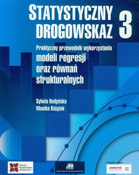 okładka Statystyczny drogowskaz 3ebook   pdf   Monika Książek, Sylwia Bedyńska