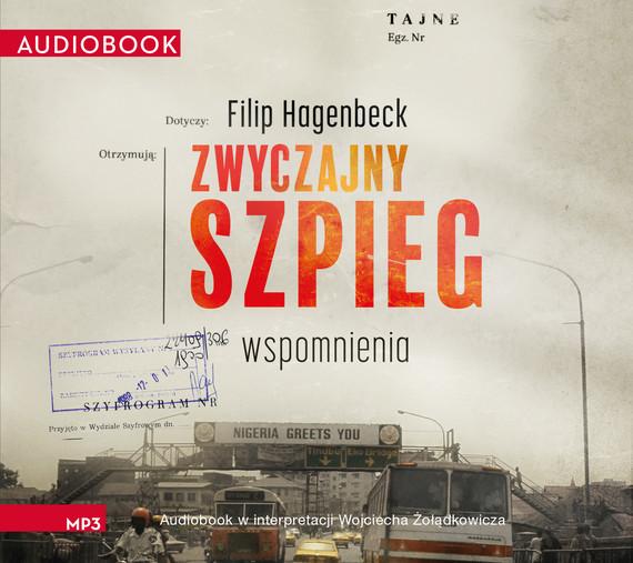 okładka Zwyczajny szpieg, Audiobook | Hagenbeck Filip